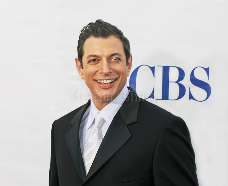 Jeff Goldblum. Handsome, dapper actor Jeff Goldblum arrives on the red carpet for the 59th Annual Tony Awards celebrating excellence in Broadway theater. The stock photos