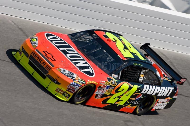 Jeff Gordon NASCAR sprinten Cup-Serien Daytona 500 stockfoto
