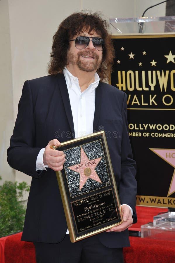 Jeff Lynne images libres de droits