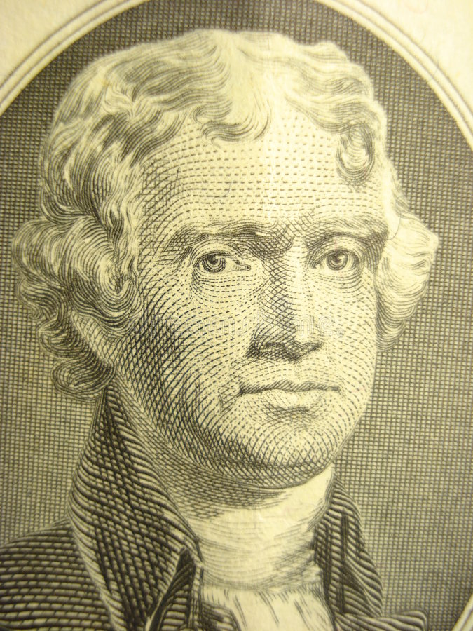 Jefferson imagen de archivo libre de regalías