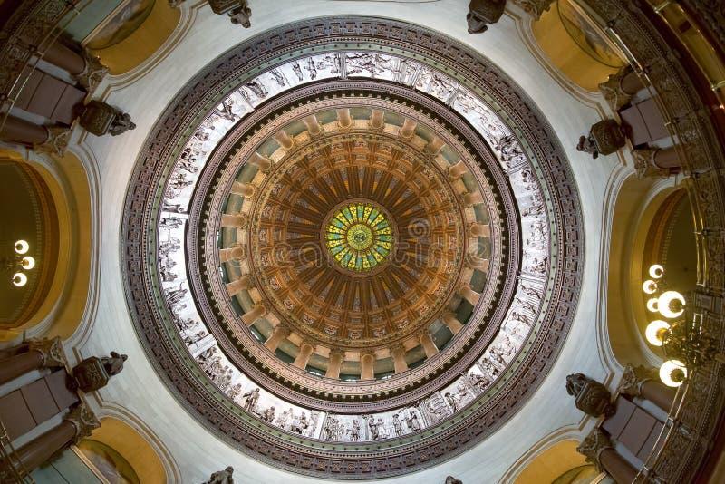 Jefferson City, Missouri - 14 giugno 2017: Foto della i rotunda immagini stock libere da diritti