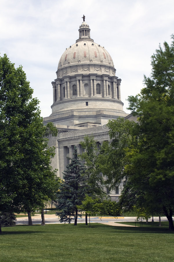 Jefferson City, Missouri - State Capitol. State Capitol of Missouri in Jefferson City stock photography