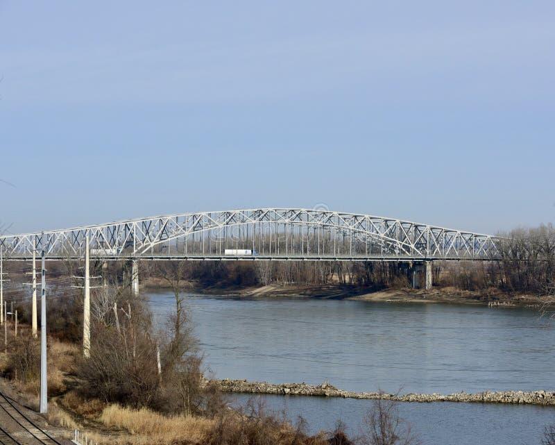 Jefferson City most zdjęcie stock