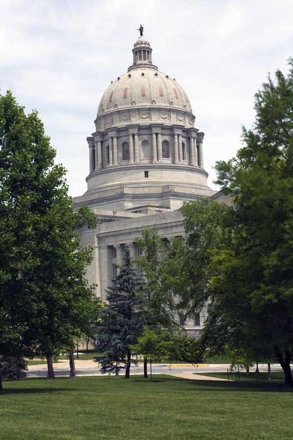 Jefferson city stolicy stanu Missouri fotografia stock