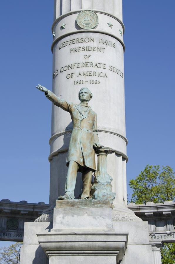 Jefferson Davis imágenes de archivo libres de regalías