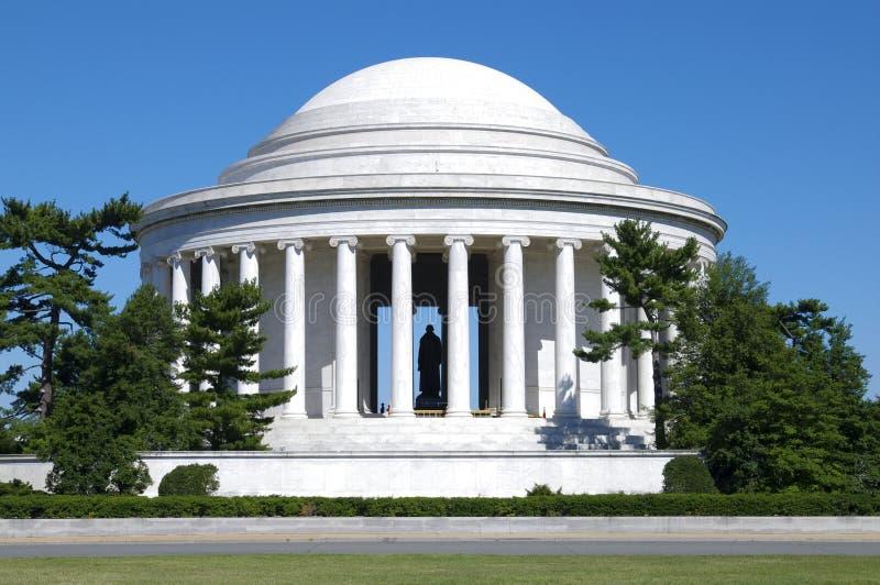Jefferson-Denkmal lizenzfreie stockfotografie