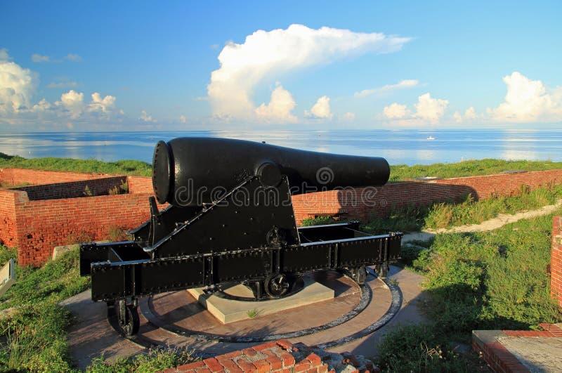 Jefferson forte Rodman Artillery Piece a 15 pollici fotografia stock libera da diritti