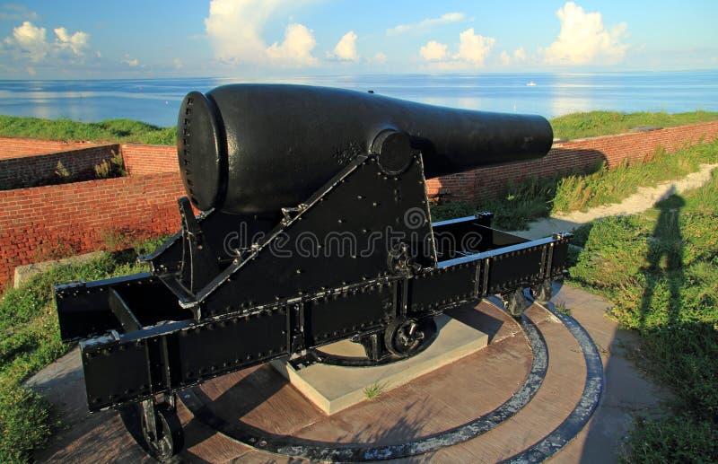 Jefferson forte Rodman Artillery Piece a 15 pollici immagine stock libera da diritti