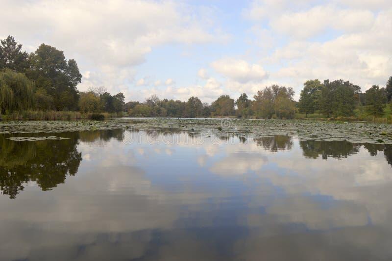 Jefferson Lake in St. Louis lizenzfreies stockfoto