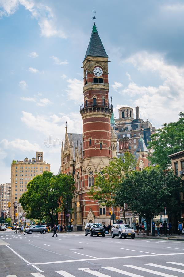 Jefferson Market Library, in Greenwich Village, Manhattan, New York City.  stock photography