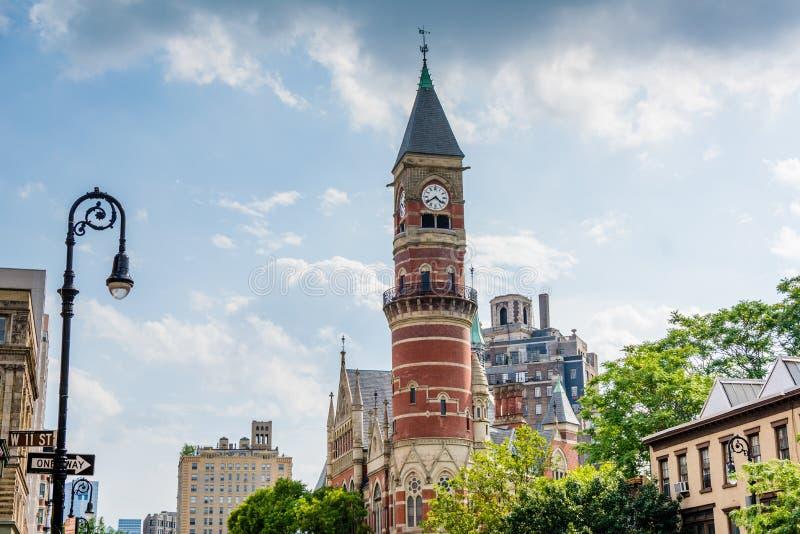 Jefferson Market Library, in Greenwich Village, Manhattan, New York City.  royalty free stock image