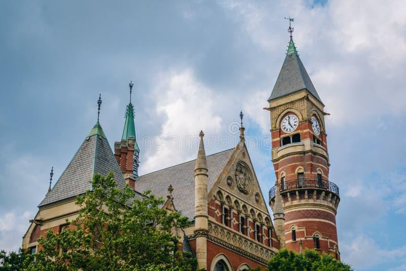 Jefferson Market Library, in Greenwich Village, Manhattan, New York City.  royalty free stock photo