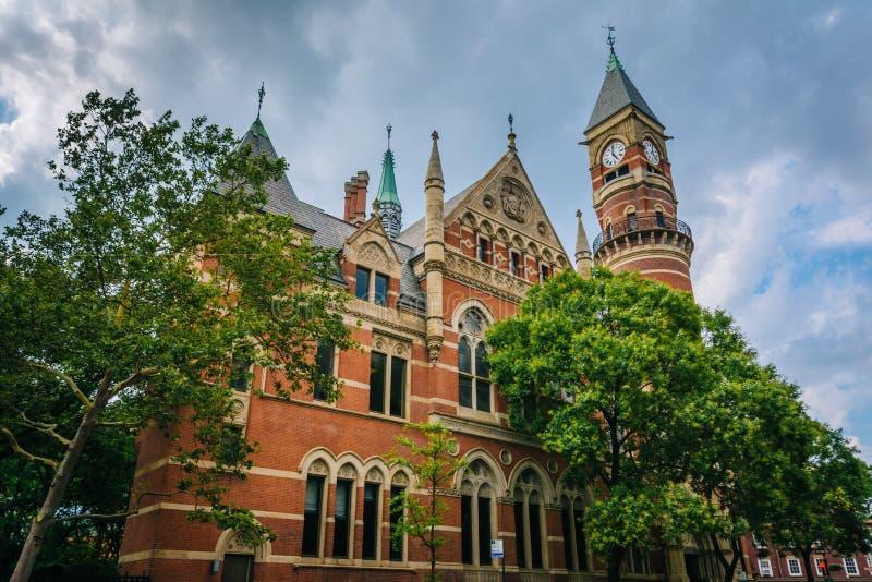 Jefferson Market Library, in Greenwich Village, Manhattan, New York City.  stock photo
