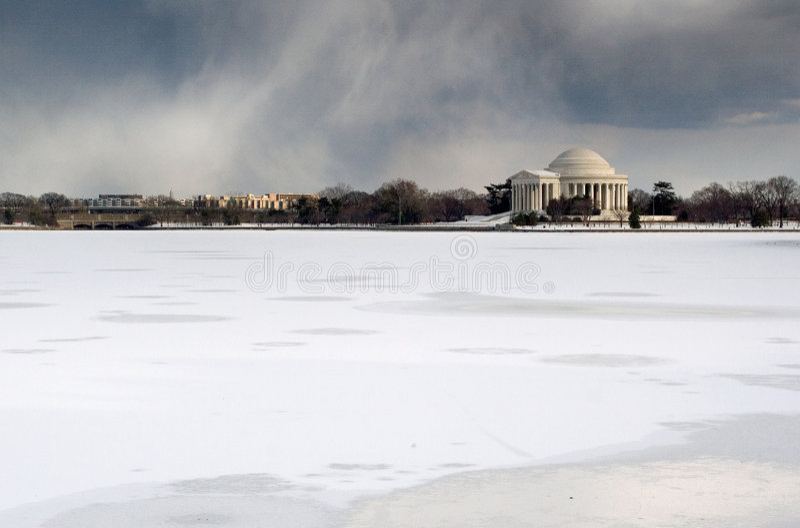 Jefferson Memorial royalty free stock photos