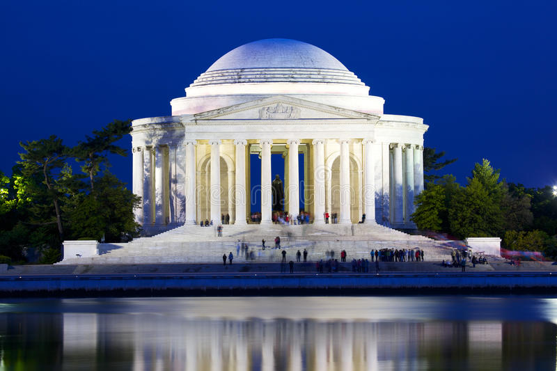 Download Jefferson Memorial Stock Image - Image: 25182751