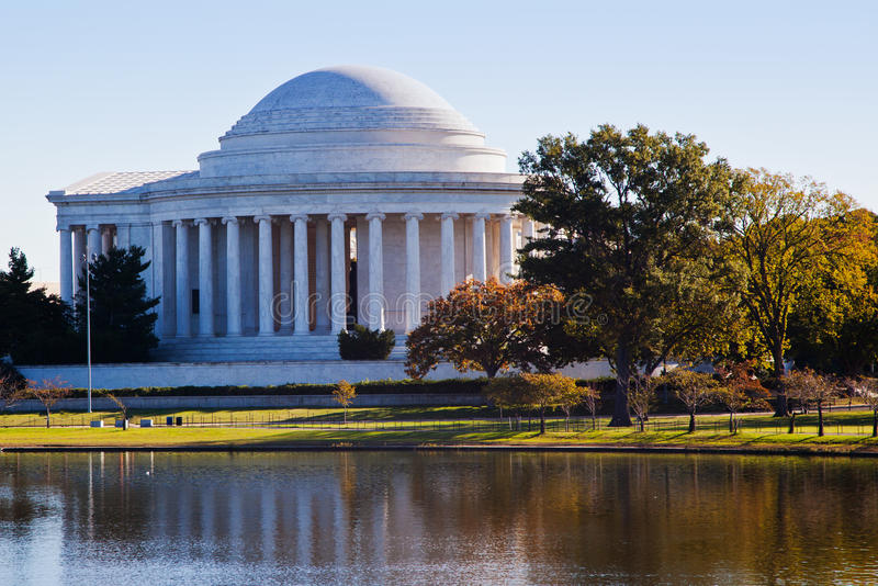 Download Jefferson Memorial stock image. Image of attraction, tourism - 27154459