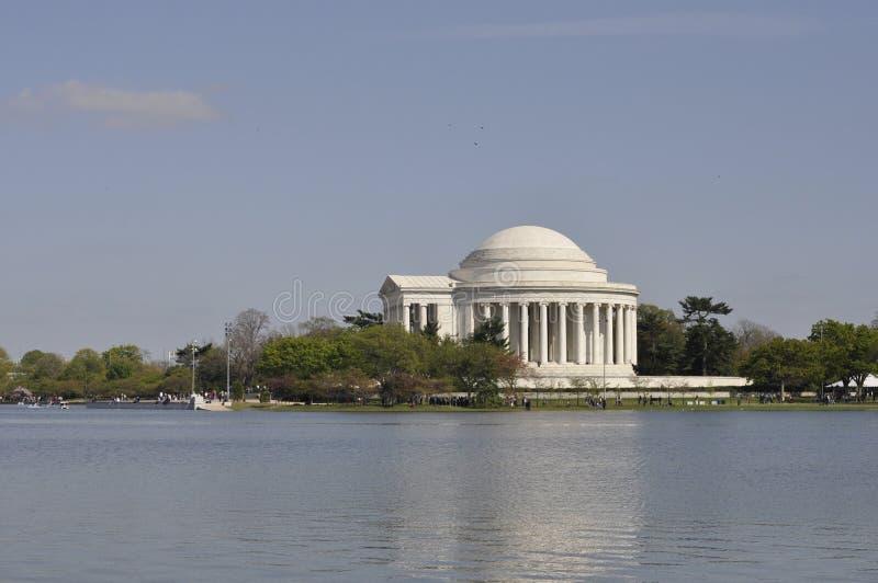 Jefferson Memorial fotografia de stock