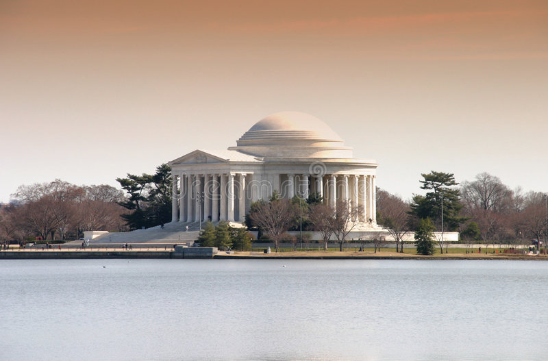 Jefferson Memorial. In Washington, DC royalty free stock images