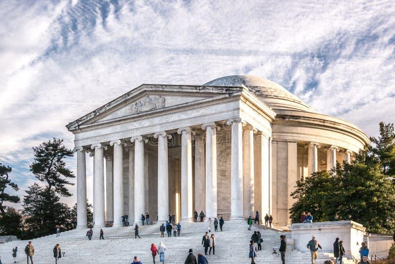 Jefferson Memorial fotografia de stock royalty free