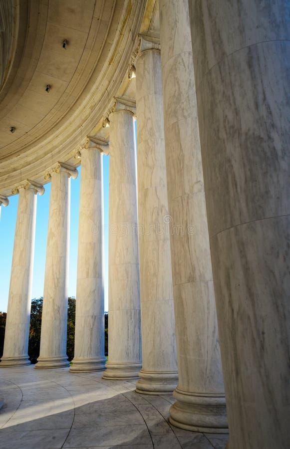 Jefferson Memorial fotos de archivo