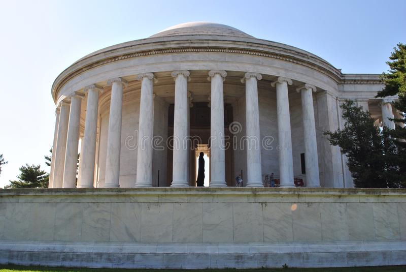 Jefferson Memorial image stock