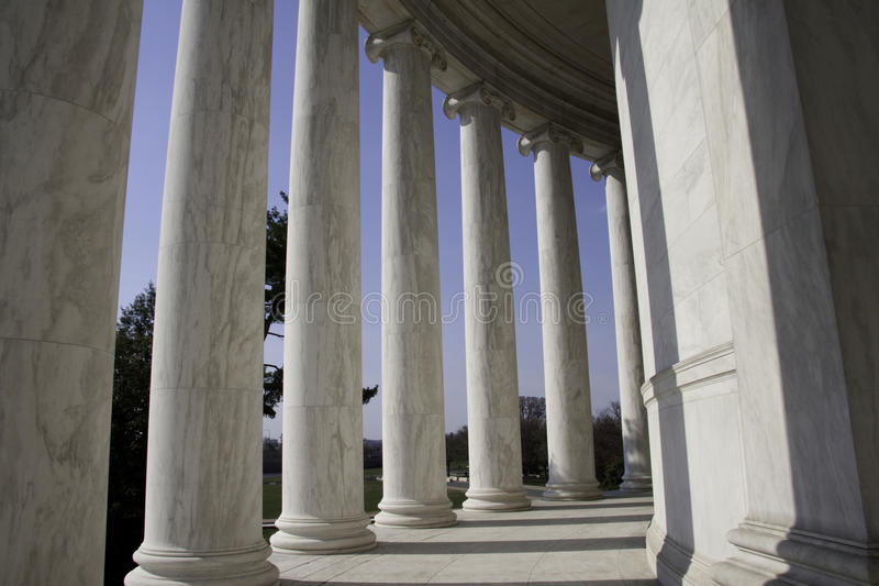 Jefferson Memorial Washington royalty free stock photography