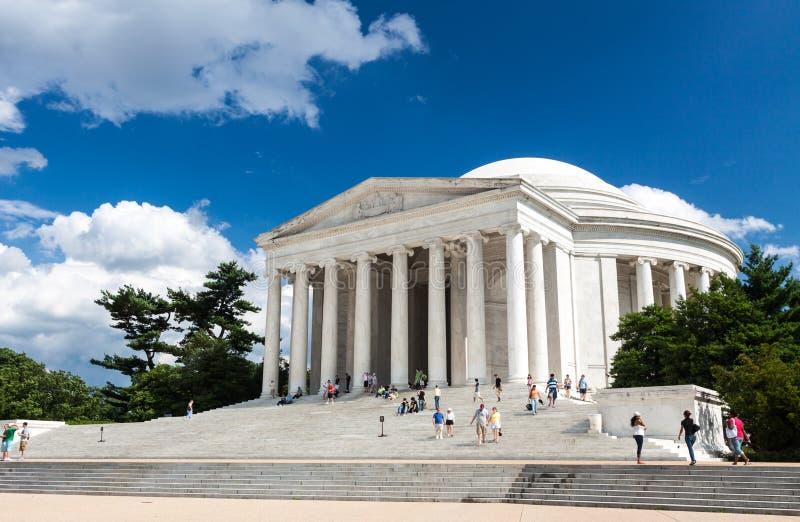Jefferson Memorial, Washington, C.C. fotos de stock royalty free