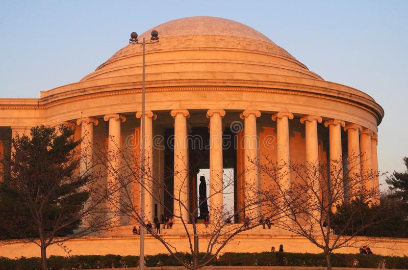 Jefferson Memorial Washington DC lizenzfreie stockfotos