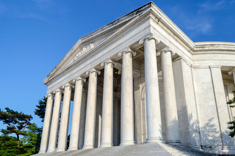 Download Jefferson Memorial In Washington DC Stock Image - Image of colonnade, blue: 32328495