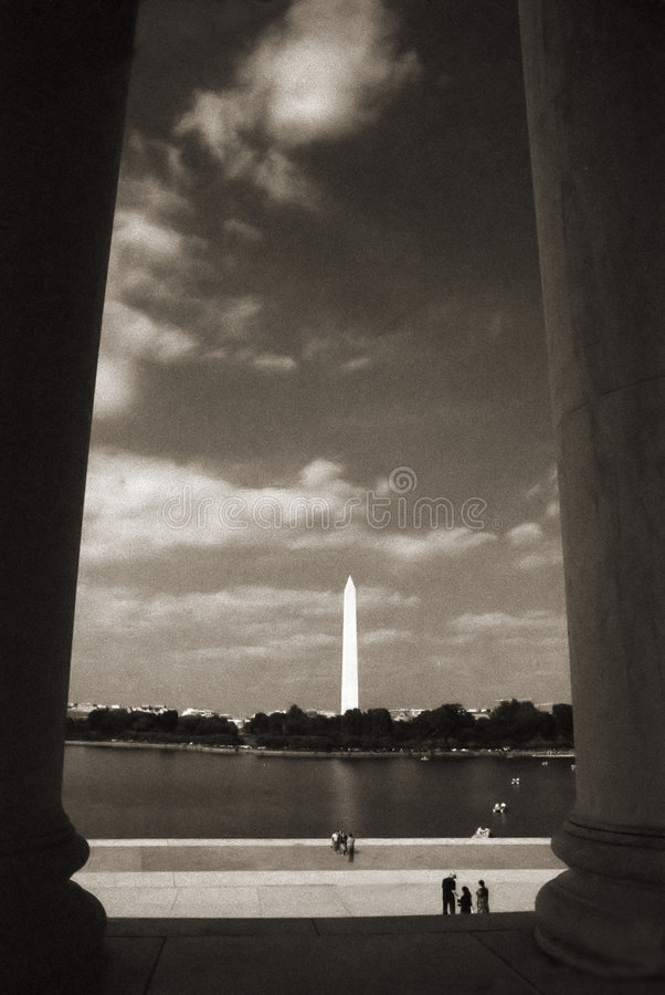 Download Jefferson minnesmärke fotografering för bildbyråer. Bild av minnesmärke - 285889