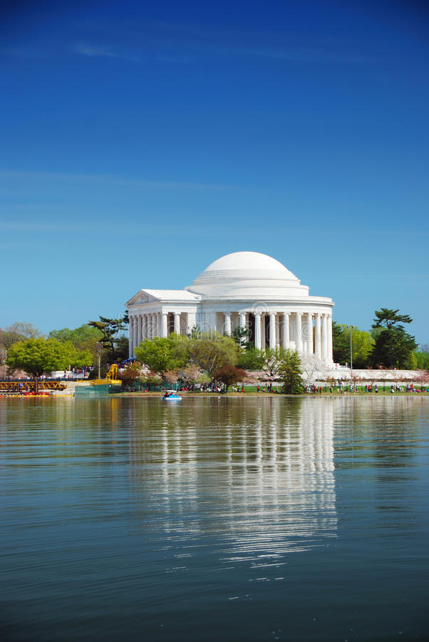 Jefferson national memorial, Washington DC royalty free stock photo