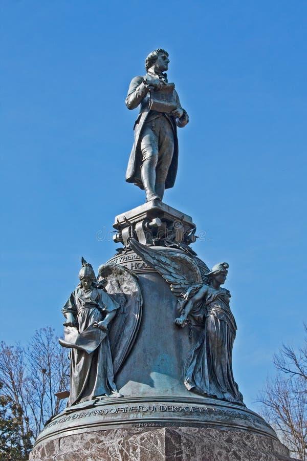 Jefferson Statue immagini stock