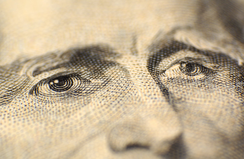Download Jeffersons Eyes stock photo. Image of neal, banking, twenty - 54722