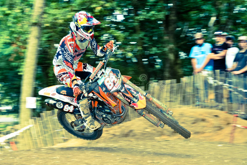 Download Jeffrey Herlings Leans His Bike In The Air Editorial Stock Photo - Image: 20878278