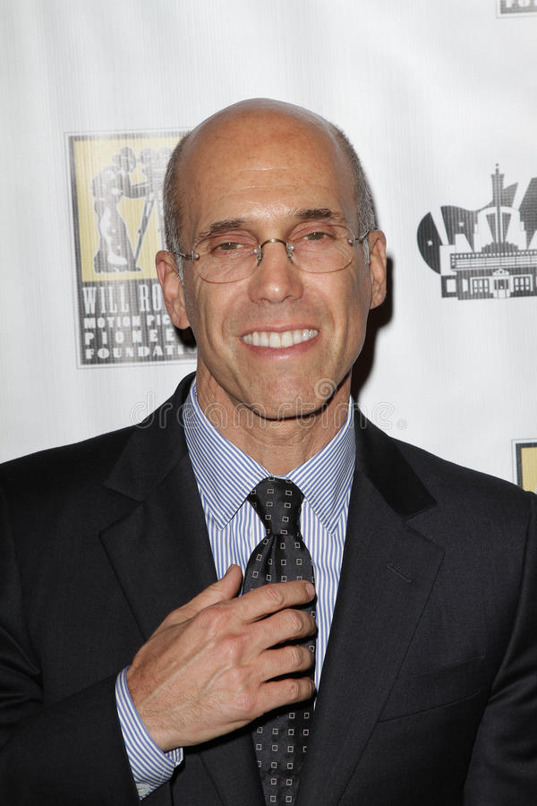 Jeffrey Katzenberg Editorial Photo