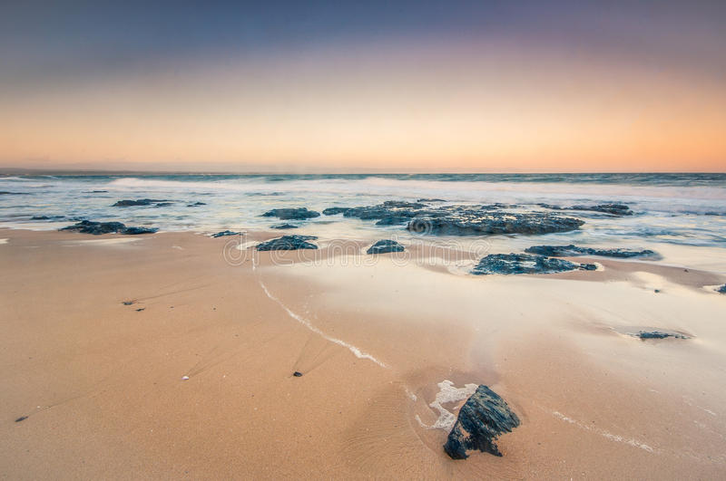 Jeffrey& x27;s bay, Cape eastern, South africa royalty free stock image