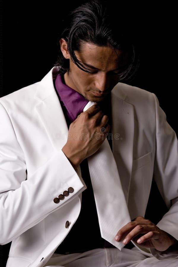 jego stary krawat tyoung zdjęcie stock