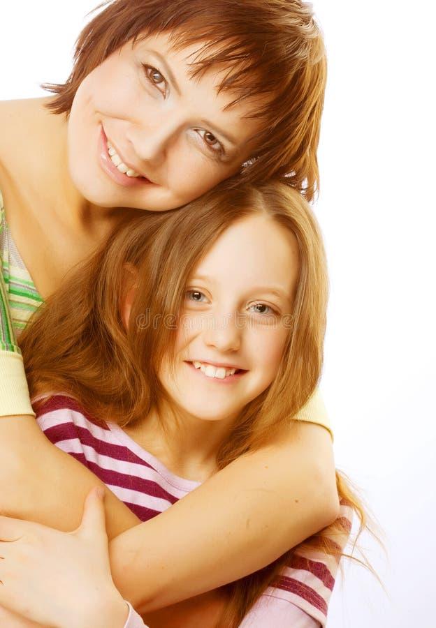jej matka, córka zdjęcia royalty free