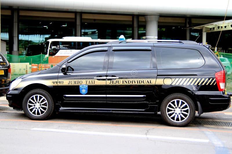 Jeju Taxi, Korea Editorial Image