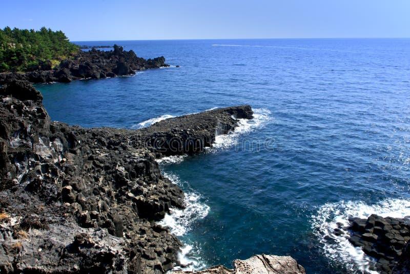 Jeju-vulkanische Insel stockbilder