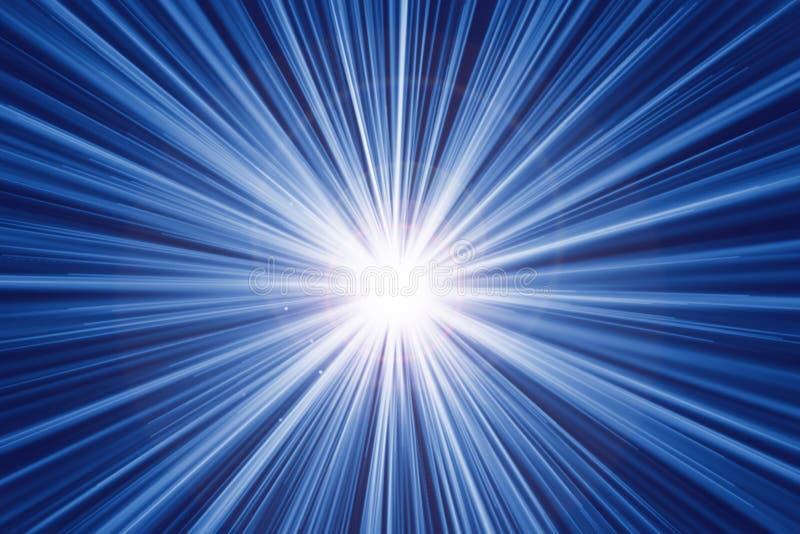 Jejua o sumário do efeito da luz da velocidade do movimento do zumbido ilustração stock