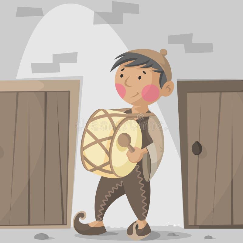 Jejum de Ramadan ilustração royalty free