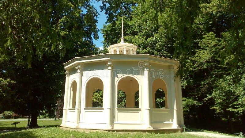 Jeka paviljong royaltyfria foton