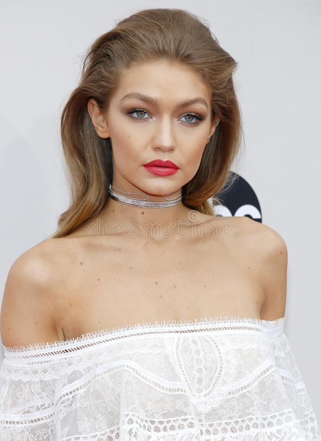 """Jelena Noura """"Gigi """"Hadid image libre de droits"""