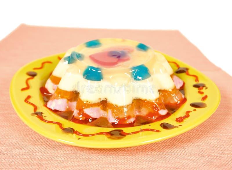 Jello dessert stock photo