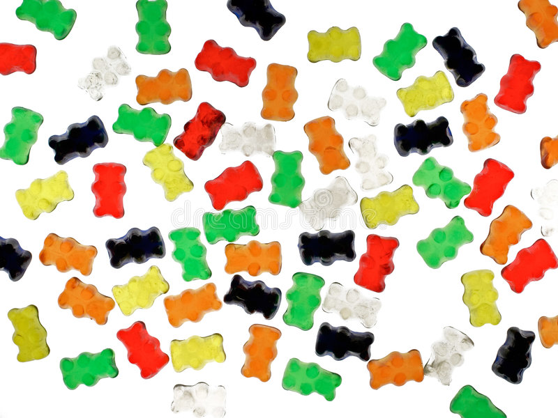 Jelly babies stock photography