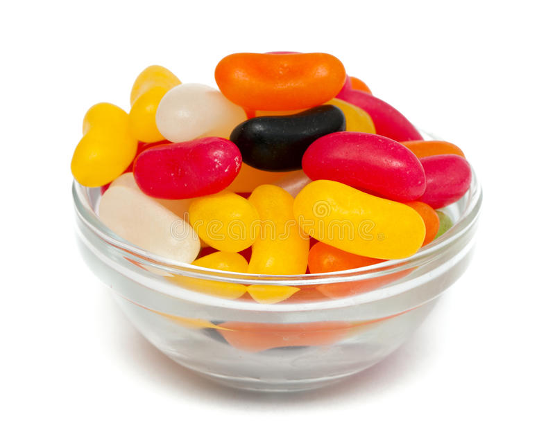 Jelly bean candies stock photography