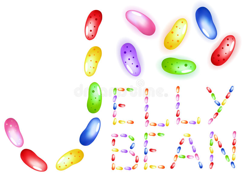 Download Jelly beans stock vector. Illustration of vector, sweet - 21947600