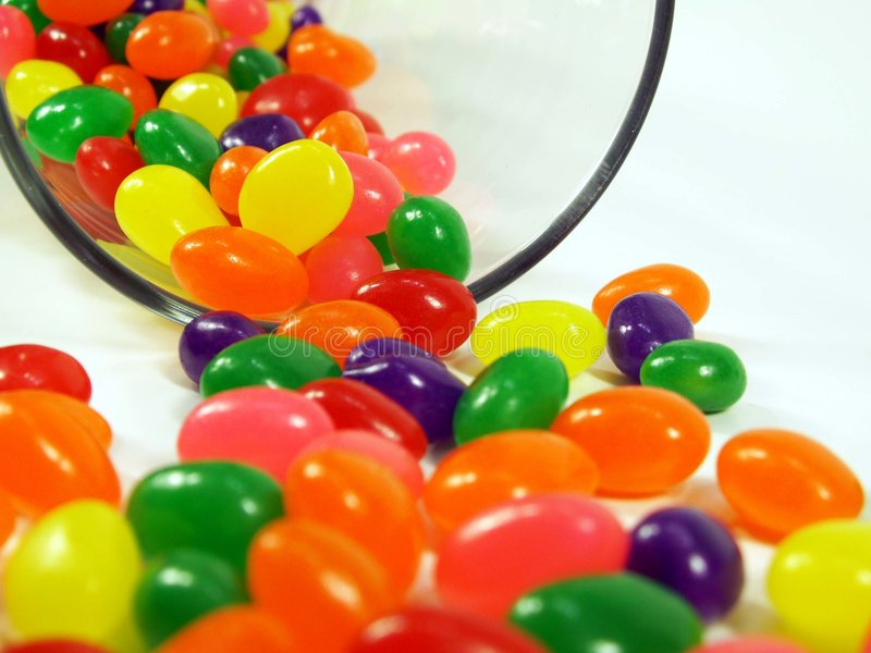 Jelly Beans! stock image