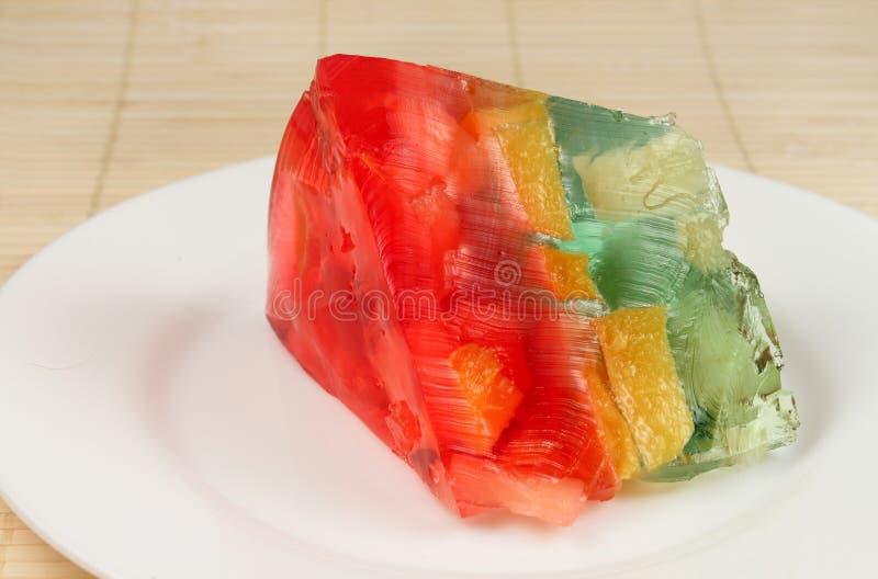 Jelly cake royalty free stock image